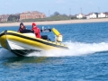 RYA Powerboat training in the Solent 094