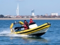 RYA Powerboat training in the Solent 118
