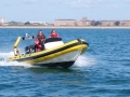RYA Powerboat training in the Solent 156