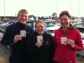 RYA Powerboat training in the Solent Ed & Sophie & Joanne