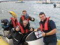 RYA Powerboat training in the Solent Theresa Harry & Martin