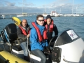 RYA Powerboat training in the Solent duncan & Thomas